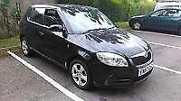 Skoda Fabia (Black)2007 1.4tdi £30road tax ! Tinted windows, alloys etc
