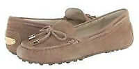Michael Kors Taupe Daisy Women's Suede Loafer GR:9!!