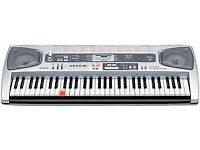 Music Keyboard -Casio LK-55 61 Key Lighted with adapter + MANY FUNCTIONS AND KEYS!