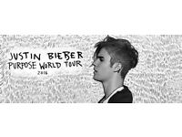 Justin Bieber O2 Arena London October, 11th Tuesday Block 111 Row K - looking to TRADE!