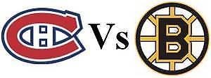 CANADIENS VS BOSTON ROUGE-GRIS LUNDI LE 17 DEC.