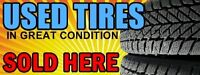 Used Summer All Season & Winter Tires Open Add To See List