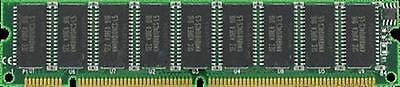 128MB EDO MEMORY RAM ECC UNBUFF 60NS DIMM 168-PIN 3.3V