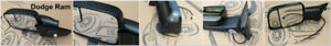 TOWING MIRROR for DODGE RAM/ FORD/ CHEVY/ GMC