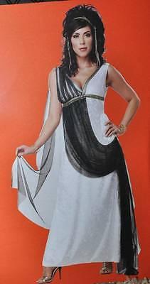 Love Goddess Costume (NEW California Womens Aphrodite Greek Goddess Roman Love Halloween Costume-sz)