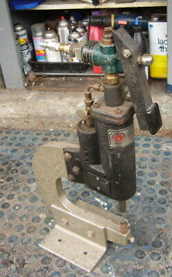 Gardner Denver Industrial Pneumatic Punch Press Rotary Tool Benchtop Pin Reamer
