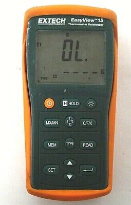 Extech Easyview 15 Thermometer Datalogger - Free Shipping