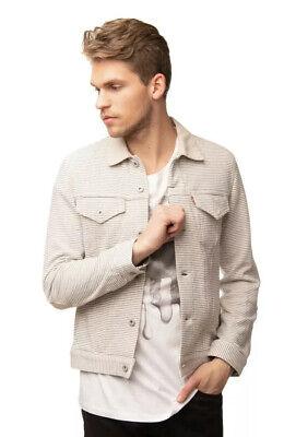 JUNYA WATANABE COMME DES GARCONS MAN X LEVI'S Jacket M Striped RRP790 100%Authen