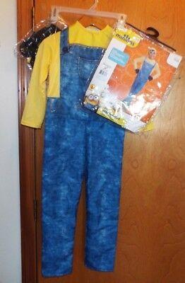 Sm Entertainment Halloween (ILLUMINATION ENTERTAINMENT MINIONS BOB CHILD COSTUME. SIZE 4-6 SMALL. NEVER)