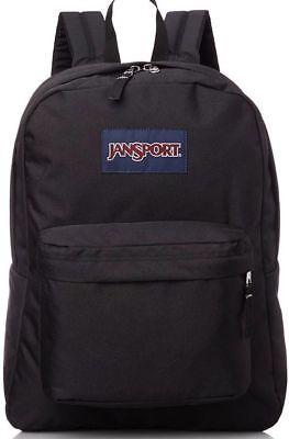 NEW JanSport Superbreak 25L Backpacks - Black 501T 100% Authentic