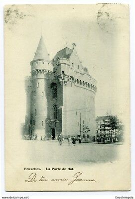 CPA - Carte postale -Belgique -Bruxelles -La Porte de Hal - 1900 (CP2559)