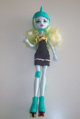 Monster High Doll Skultimate Roller Maze Lagoona Blue With Helmet & Skates