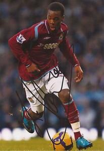 WEST-HAM-ZAVON-HINES-SIGNED-6x4-ACTION-PHOTO-COA