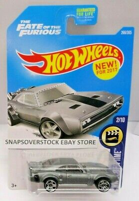 2017 HOT WHEELS FAST & FURIOUS ICE CHARGER, SCREEN TIME 2/10, HW #266/365, VHTF