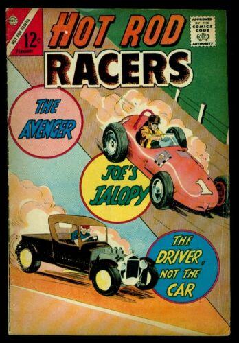 Charlton Comics HOT ROD RACERS #2 VG/FN 5.0
