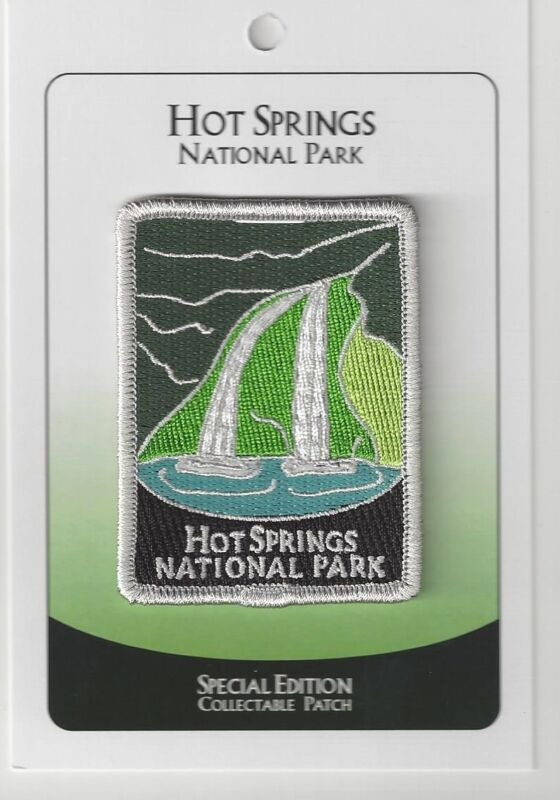 Hot Springs National Park Souvenir Patch  Special Edition Traveler Series