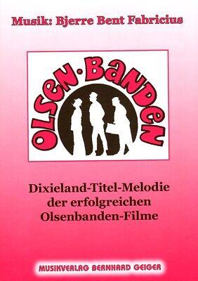 Olsenbande Olsen Banden Titelmelodie Noten Klavier