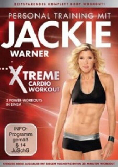 JACKIE WARNER - XTREME POWER CARDIO WORKOUT  DVD FITNESS SPORT NEU
