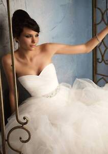 Pure white deb dress.Corset back.Tulle skirt.on sale Epping Whittlesea Area Preview
