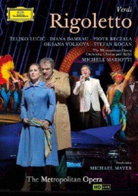 PIOTR BECZALA/DAMRAU/MARIOTTI/MOO/+ - RIGOLETTO  DVD OPER NEU VERDI