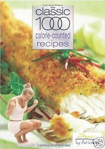 1000 calorie Counted Recipes Diet Cook Book Healthy Eating Weight Loss Nutrition