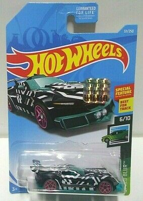 2019 Hot Wheels Speed Blur Track Ripper Black 37 RLC Set VHTF