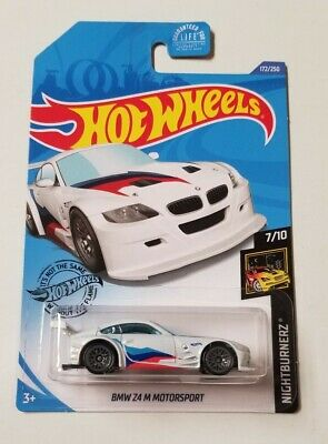 2020 Hot Wheels BMW Z4 M Motorsport * J Case * NIP 1:64 Scale