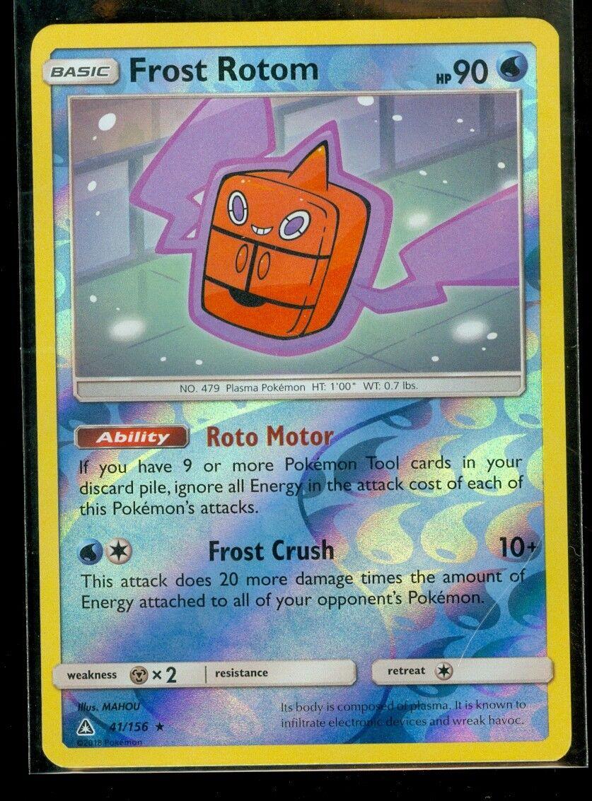 Frost Rotom 41//156 Pokemon TCG SM Ultra Prism Rare NM-M