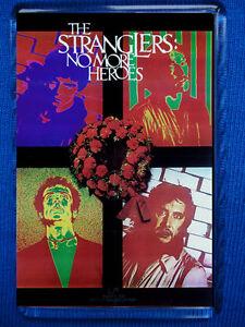 The Stranglers-No More Heroes Poster Fridge Magnet