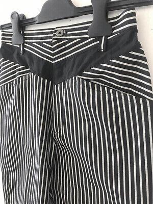 ⭕ 80s Vintage Kansai Yamamoto Stripe pants : avant garde issey yohji japanes 70s