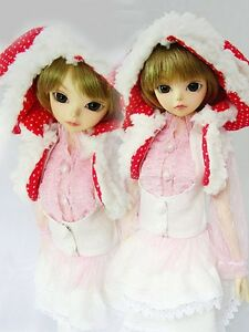 White-Clothes-Wraps-Suit-Outfit-1-6-SD-DZ-AOD-DOD-LUTS-BJD-dollfie