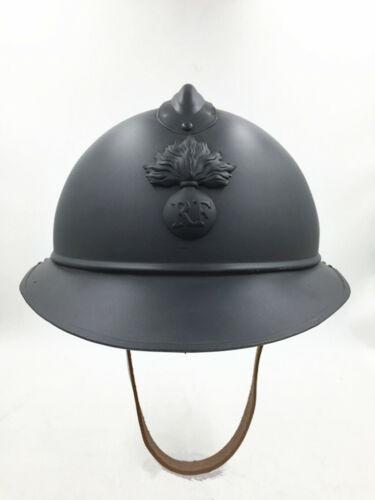 WW1 Type M1915 French Adrian Steel Helmet Military Soldier M15 Infantry Gear