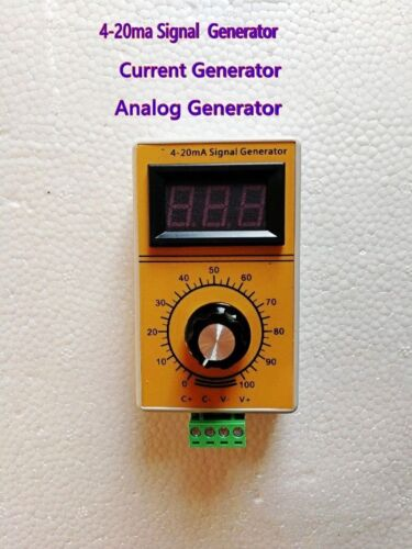 4-20ma Signal Current Generator Constant Current Source Digital Analog Generator