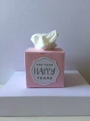 10 x Handmade Mini Tissue Boxes