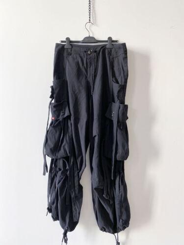 ⭕ 90s Vintage ILLIG Raver Pants : avant garde jnco jeans shirt jacket rave bjork