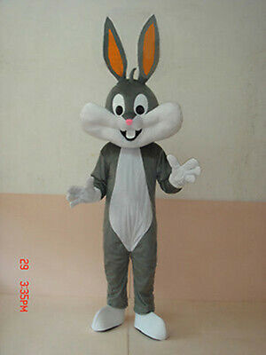 Adult Bugs Bunny Mascot Costume For Festival PARTY - Bugs Bunny Adult Costume