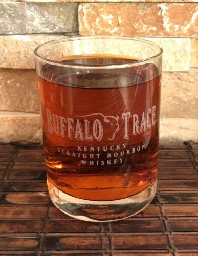 BUFFALO TRACE Kentucky Straight Bourbon Collectible Whiskey Glass