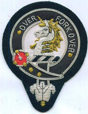 UK Royal Scottish Scotland Clan Cunningham Heraldry Crest Family Name COA Patch