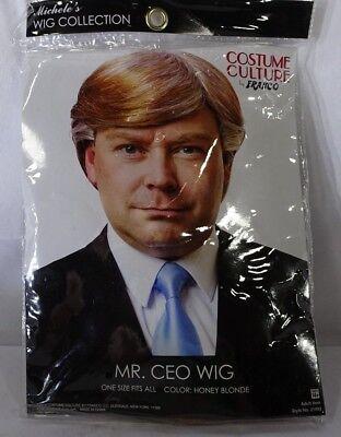 Mr. CEO Wig Honey Blonde with grey Costume Wig - Grey Costume Wig
