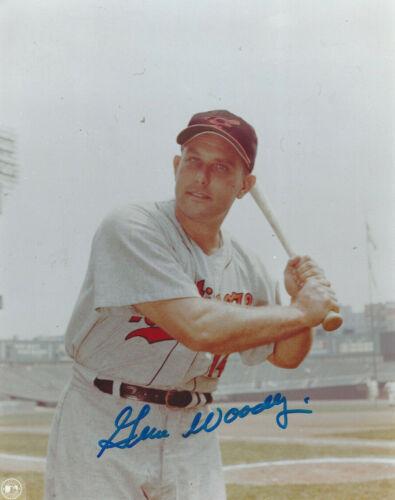 Baltimore Orioles Gene Woodling  autographed 8x10 color photo