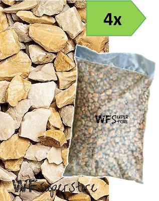 Graniglia marmo Giallo Mori 8/12 - 4 sacchi da 25 kg - sassi pietre giardino