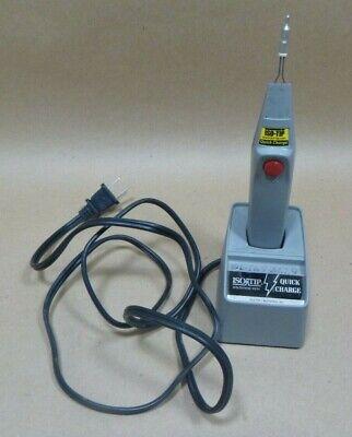 Iso-tip 7700 Cordless Soldering Iron Rechargable 5-watt 120v 50-60hz