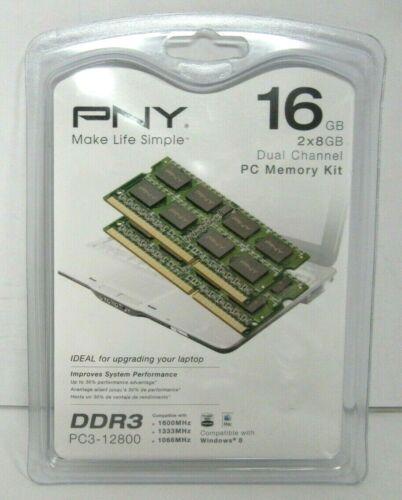 PNY 16GB 1.6GHz PC3-12800 DDR3 Laptop Memory Green MN16384KD3-1600