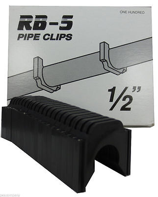100 12 Pexcoppercpvc P4bk Stand Off Clips For Peter Mangone Rb-5 Rb-6