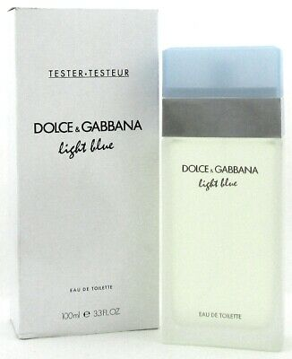 DOLCE GABBANA LIGHT BLUE 3.3 oz D&G WOMEN PERFUME EDT 100ML 3.4 NEW IN BOX W (Dolce Gabbana Women)