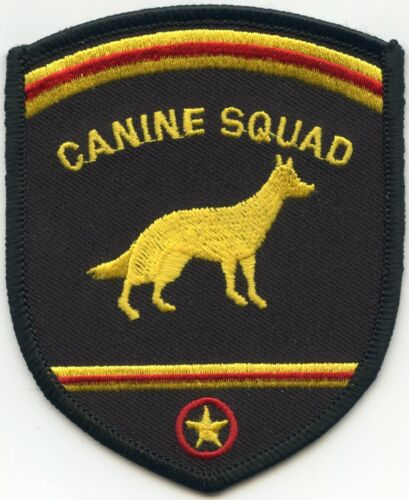 DALLAS TEXAS TX CANINE SQUAD K-9 POLICE PATCH