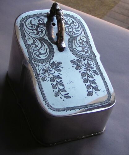 Antique Victorian Silver Plate Cheese Cover