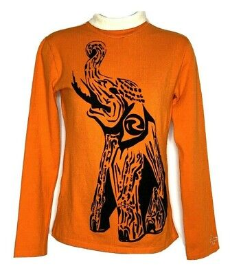 Vintage Rossignol JC De Castelbajac Pullover Sweater Ski Velvet Elephant