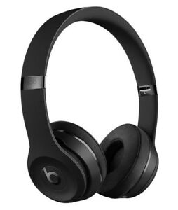 Beats by Dre Solo3 Matte Black