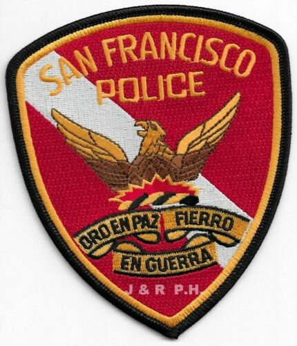 "San Francisco  Dive Team, California (4"" x 4.75"")  shoulder police patch (fire)"